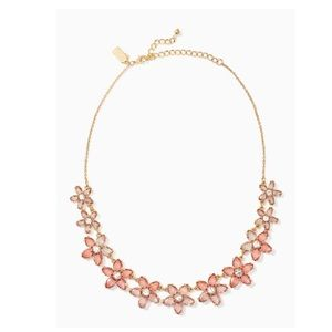 NWT Kate Spade Bed of Roses Necklace